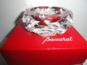 "Baccarat Camel crystal ashtray 4"" diameter no box"