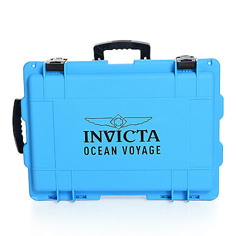 Invicta Collectors 50-Slot wheeled suitcase