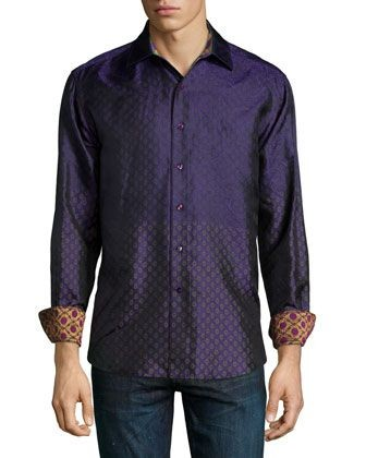 Robert Graham Loch Diamond Shirt