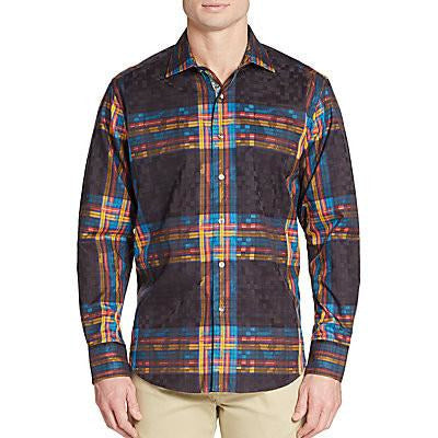 Robert Graham Salvation Classic Fit Medium-sized Shirt New With Tags