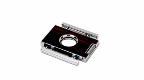 "Brizard and Co. The ""Elite"" Cigar Cutter - Macassar Ebony"