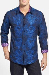 Robert Graham G Ron Shirt Medium