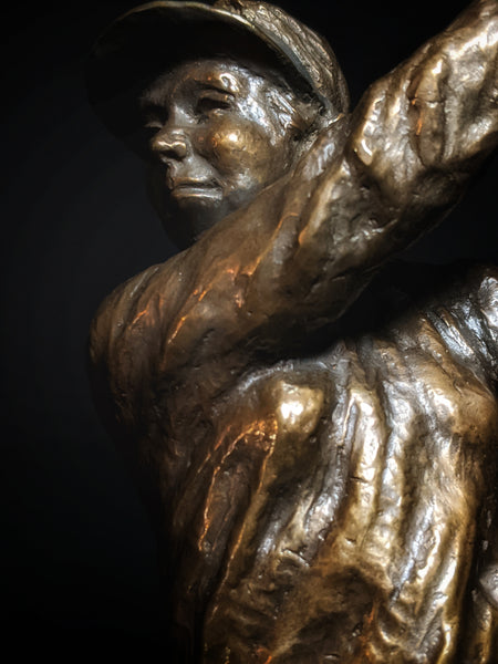 Mark Hopkins Bronze Lady Golfer