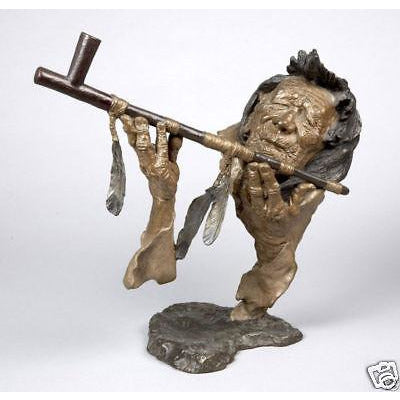 Mark Hopkins | Bronze Sculpture - Grandfather's Prayer