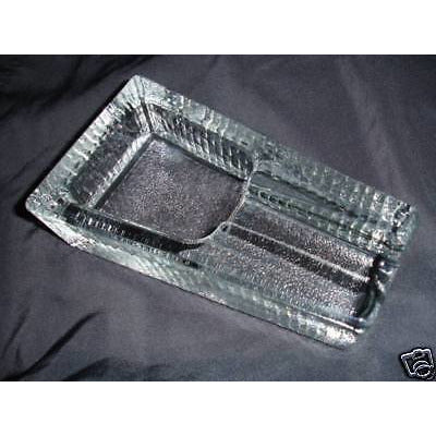 heavy duty glass ashtray
