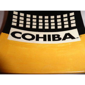 cohiba ceramic cigar ashtray - preowned without the original box