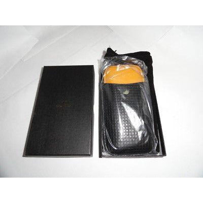 Cohiba Black & Gold Leather  Case holds 3 Large