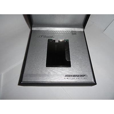s.t.dupont James Bond 007-PVD Gunmetal Table Lighter