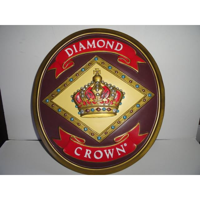 Diamond Crown Wall Plaque