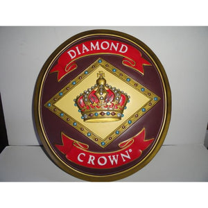 Diamond Crown  Logo Wall Plaque