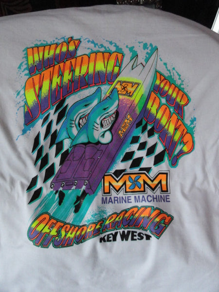 "Powerboat Racing ""Who's Steering Your Boat""  T-Shirt"