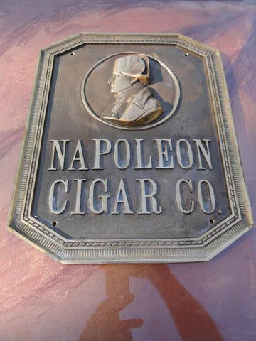 Napoleon Bronze Wall Plaque