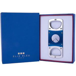 Elie Bleu Blue cutter with case