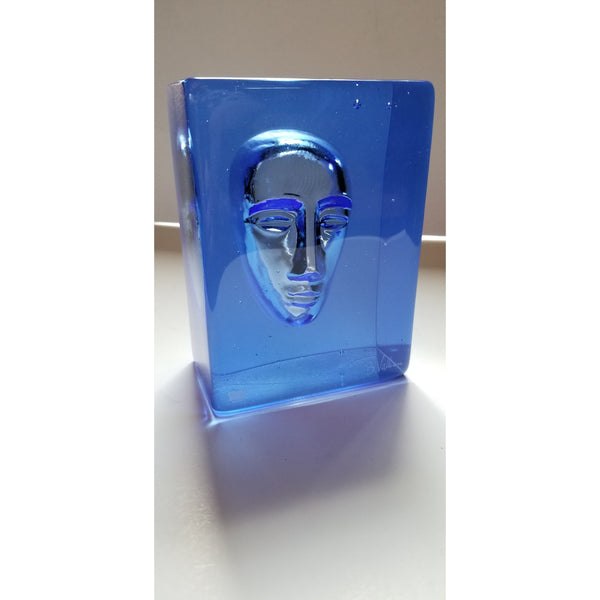 """ Man"" Glass Sculpture"