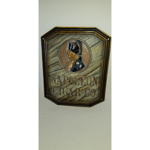 "Napoleon  Co. Bronze Sign 17.5"" H x 13.5"" W"