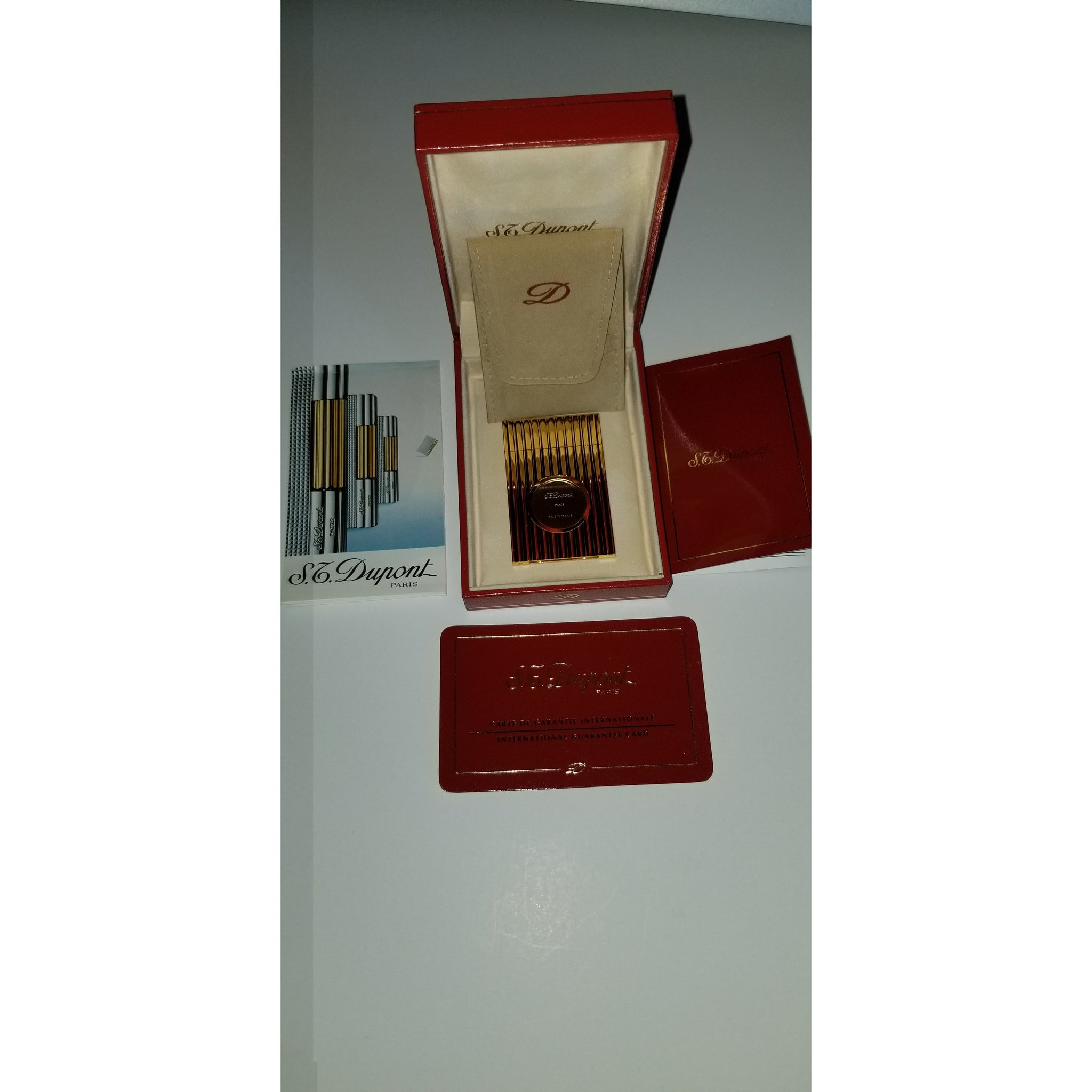ST Dupont Gold Plated Cutter