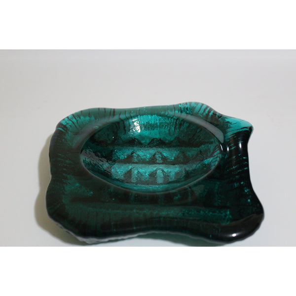 Green  Abstract Ashtray