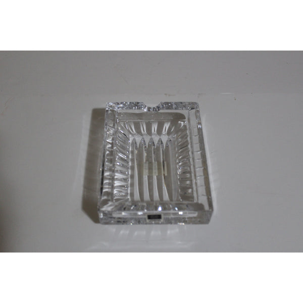 Clear Glass Rectangle Ashtray