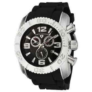 Men's Swiss Legend Commander Chronograph black watch