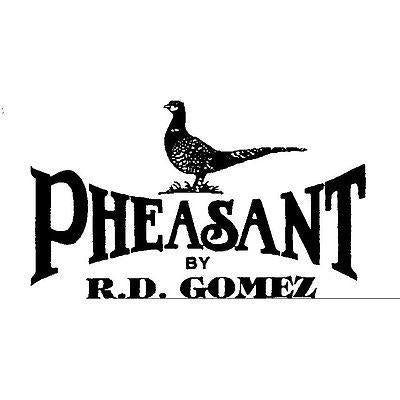 Pheasant by R.D.Gomez Stainless Steel Cutter Green  Leather BNIB