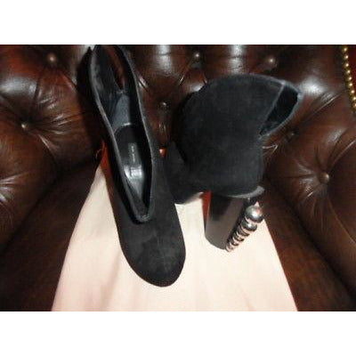 Marc Jacobs Ladies High Heels in Black Suede SIze 38