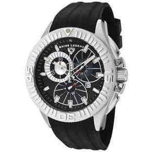 Swiss Legend Evolution Chronograph Black Dial Watch
