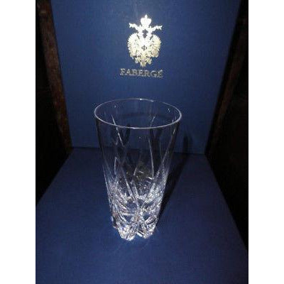 Faberge Crystal Glasses set of 4 NIB