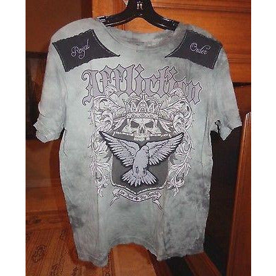 Affliction Designer T-Shirt Size: medium
