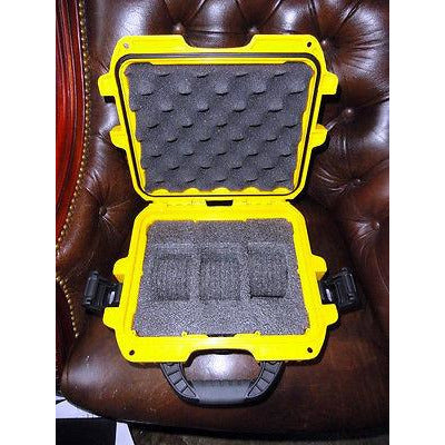Invicta watch carrying case in bright yellow without original box