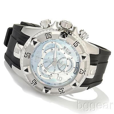 Invicta Men's 6970 Reserve Excursion Mother of Pearl Dial Touring Watch Preowned excellent condition