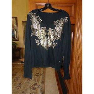 Just Cavalli Mens Designer Long sleeved shirt pre-owned size: large