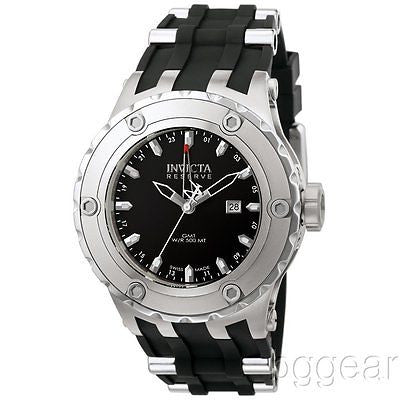 Invicta Men's 6182 Reserve Collection GMT Stainless Steel PRE-OWNED