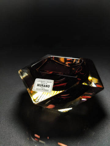 Murano Crystal Ashtray