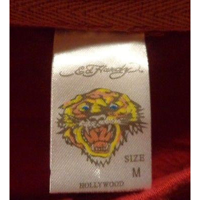 Ed Hardy Mens Designer T-Shirt pre-owned size: Medium