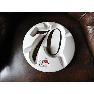 Montecristo 70th Anniversary Cigar Ashtray without the original box pre-owned