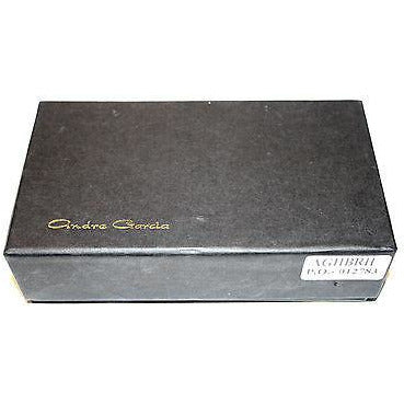 Andre Garcia Dark Brown Horizontal leather case in the original box