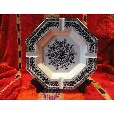Versace by Rosenthal Ashtray 9 inches wide New Porcelain