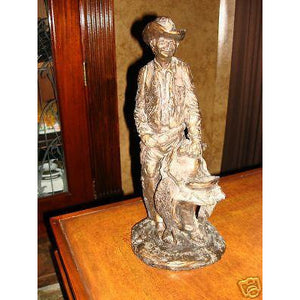 "Daniel Monfort  Sculpture of a Cowboy"" mint"