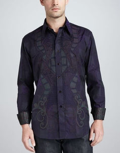 Robert Graham Bora long sleeve shirt