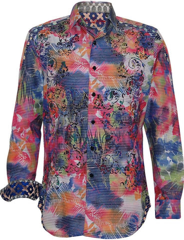 Robert Graham Laser Art Shirt