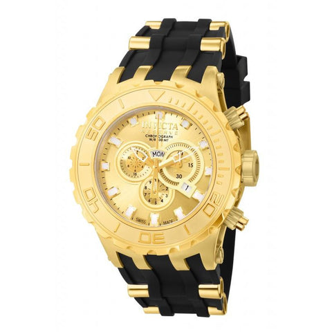 Invicta Reserve Subaqua Model 6905 Gold Plated Swiss Watch New In Presentation Box