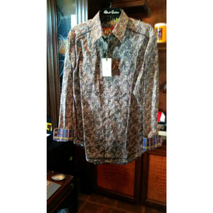 Robert Graham Medium-sized Shirt New