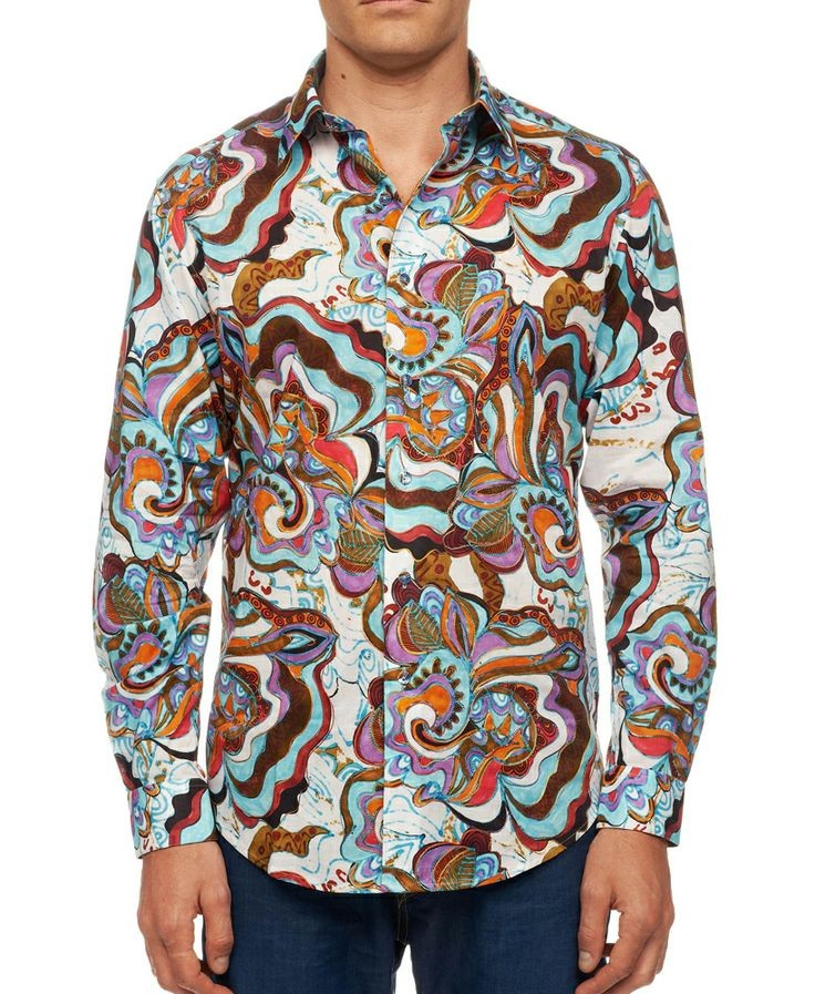 Robert Graham Jimbo Medium sized shirt