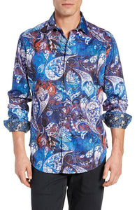 Robert Graham Mayar medium size shirt