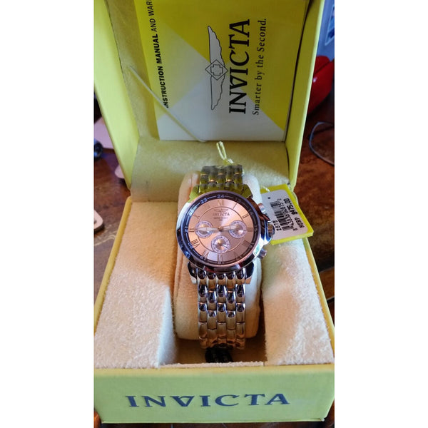 Invicta 2875 Men's Stainless Steel Wrist Watch new in the original box with tags