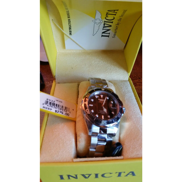 Invicta  Model 8932 Men's Pro Diver SQ Stainless Steel Watch