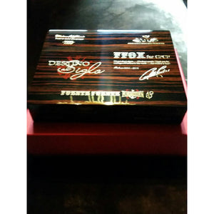 Opus X Travel Humidor In Macassar Ebony New In The Original presentation box no Cigars Included