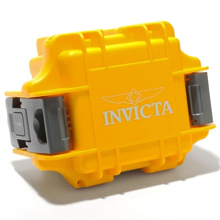 Invicta single slot watch case