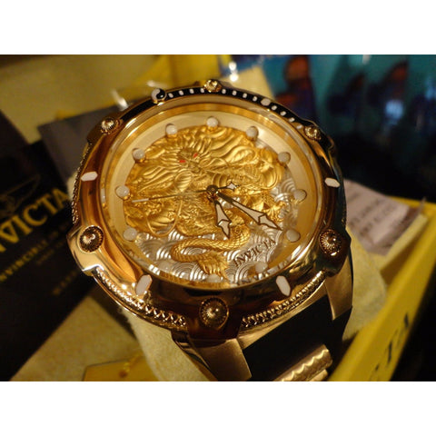 Invicta - Gold Plated Bolt Dragon - 52mm