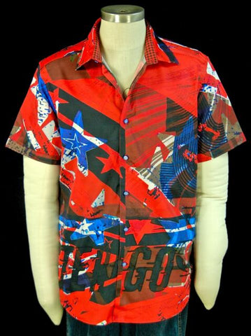 Robert Graham Go Faster Short Sleeve Shirt X-Large Size